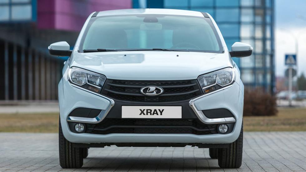 Lada Xray 2015 frontal