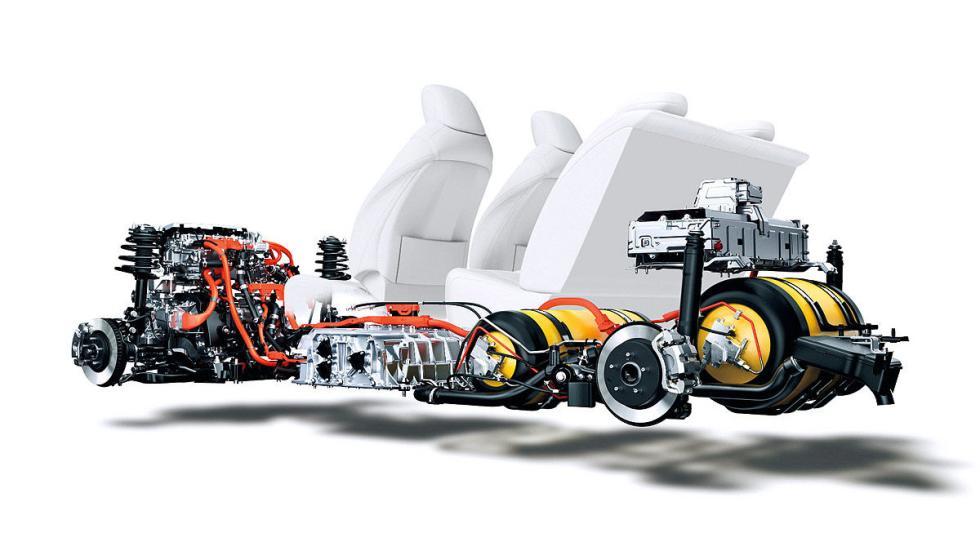 Toyota Mirai técnica
