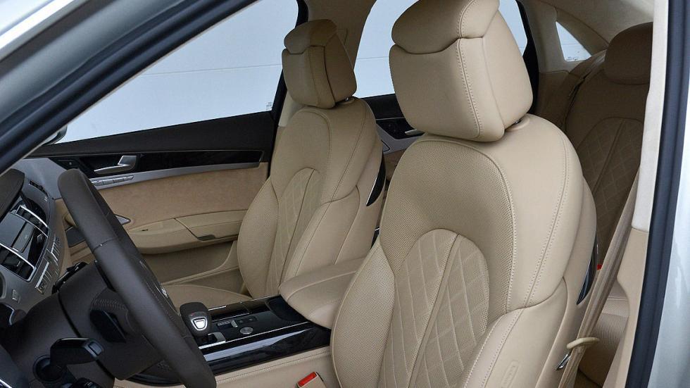 Audi A8 asientos