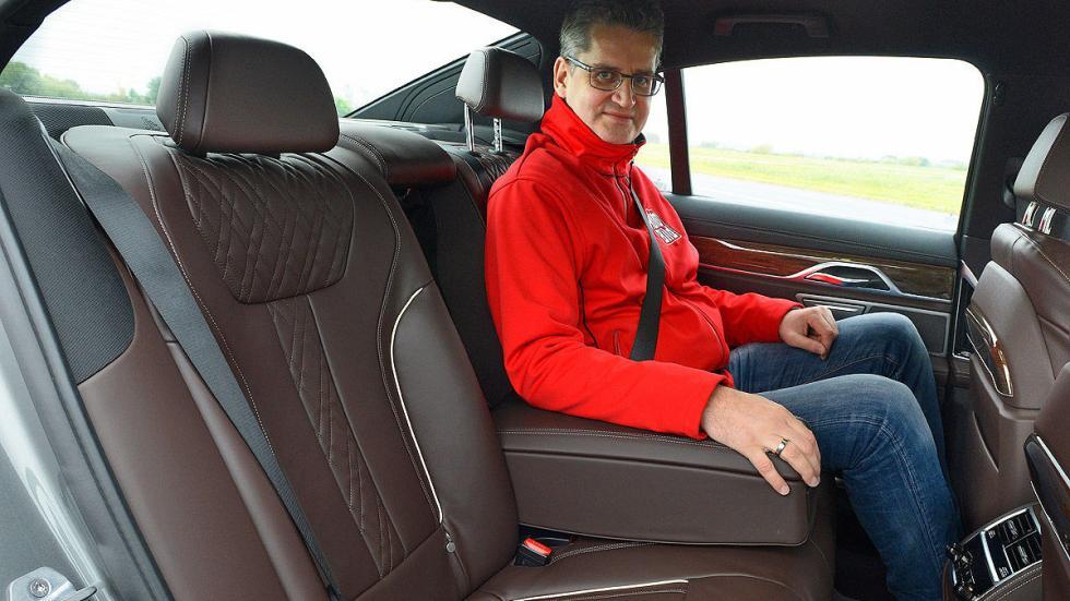 BMW Serie 7 traseras