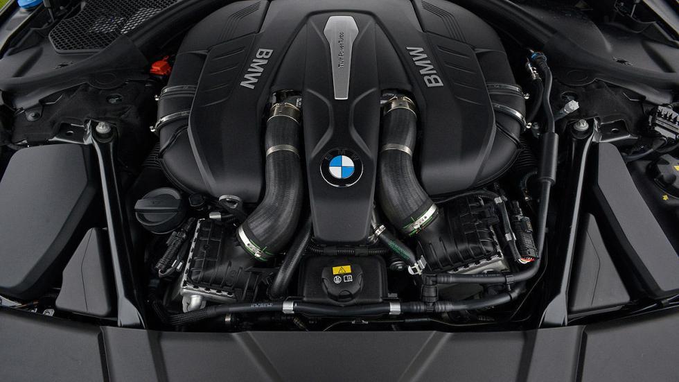 BMW Serie 7 motor