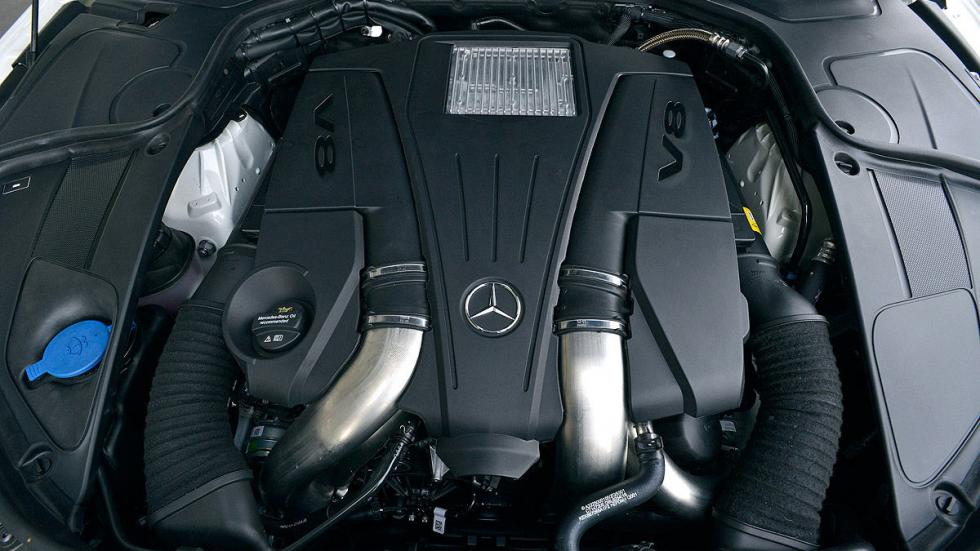 Mercedes Clase S motor