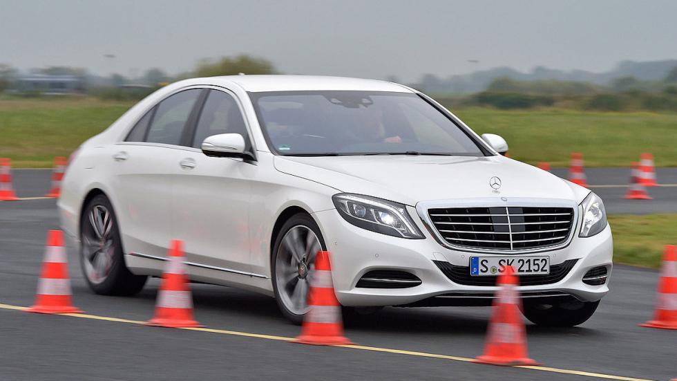 Mercedes Clase S conos