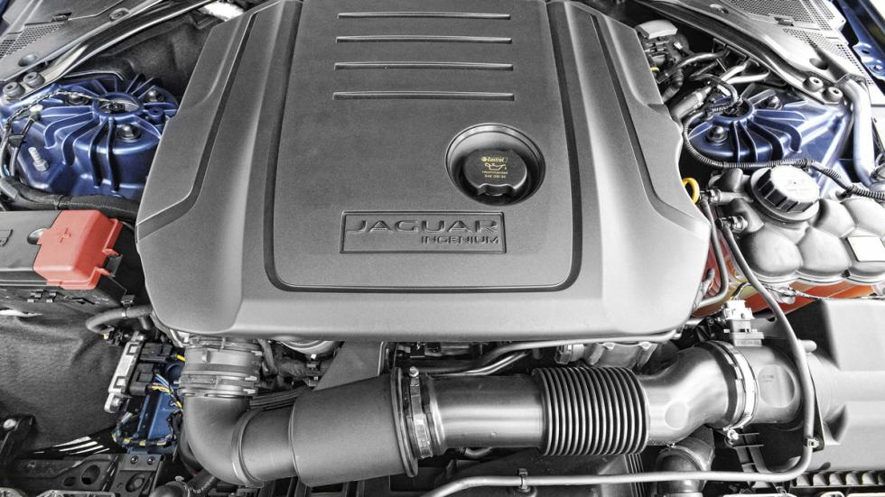 Jaguar XE motor