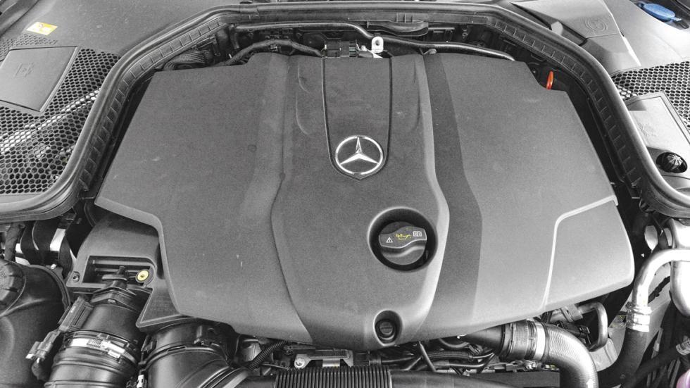 Mercedes C 220d motor