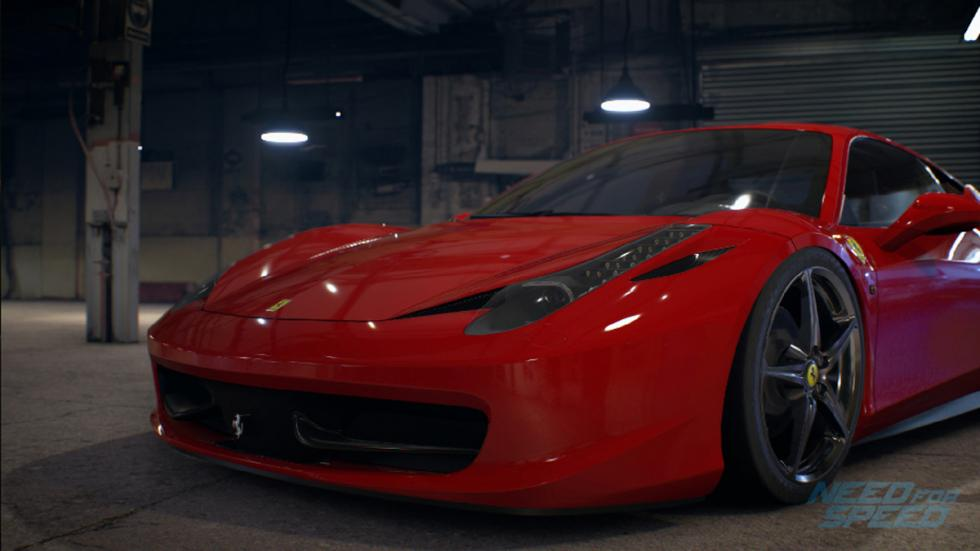 Ferrari 458 italia Need for Speed