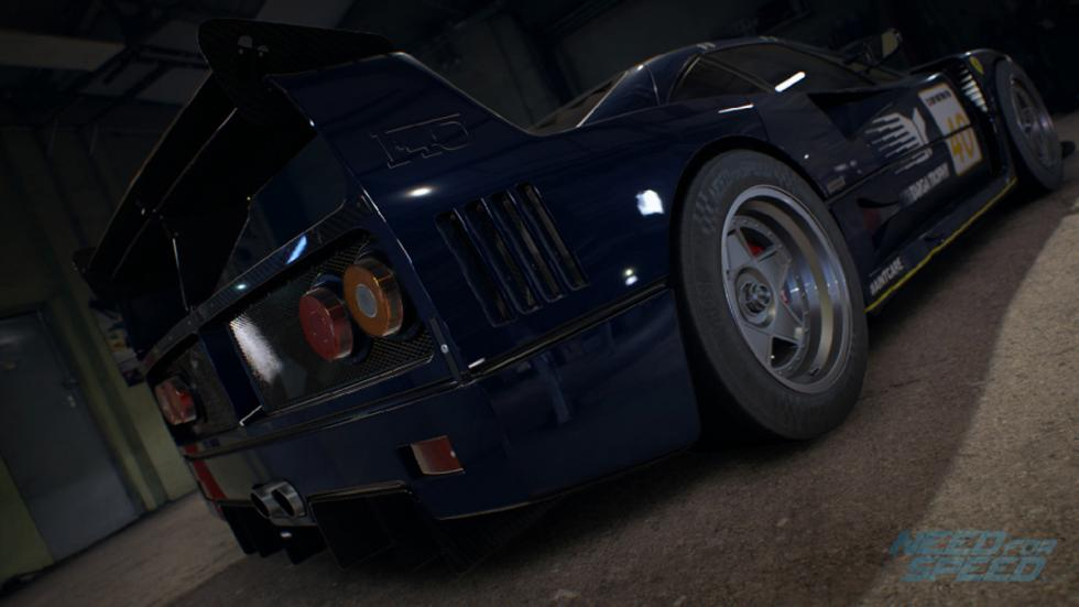 Ferrari F40 custom Need for Speed: