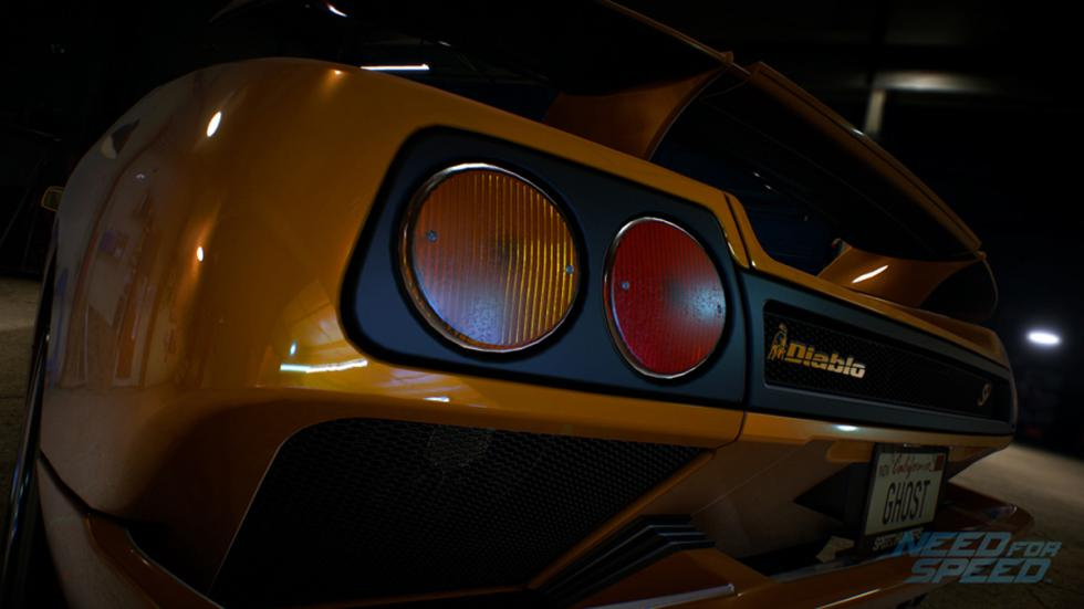 Lamborghini  Miura SV Need for Speed:
