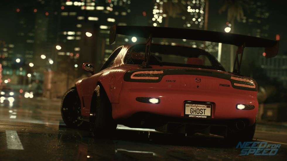 Mazda RX-7: Need for Speed