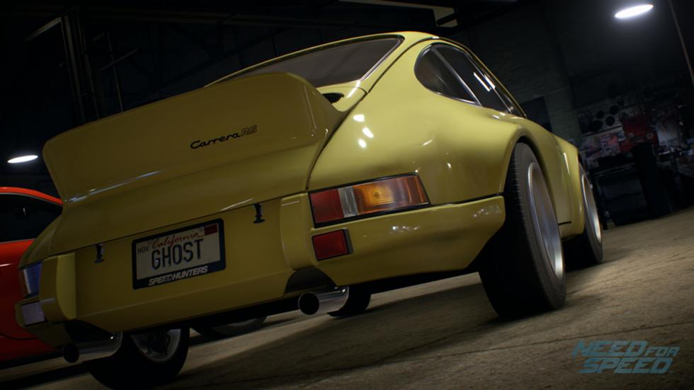 Porsche 911 Carrera Need for Speed