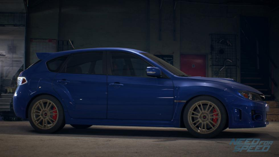 Subaru Impreza Need for Speed