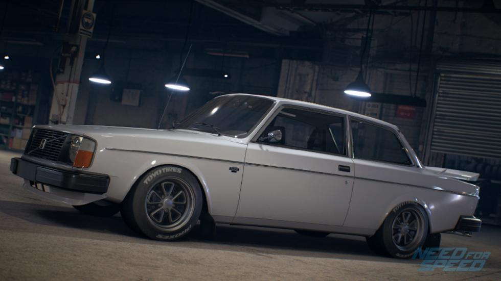 volvo 242 Need for Speed