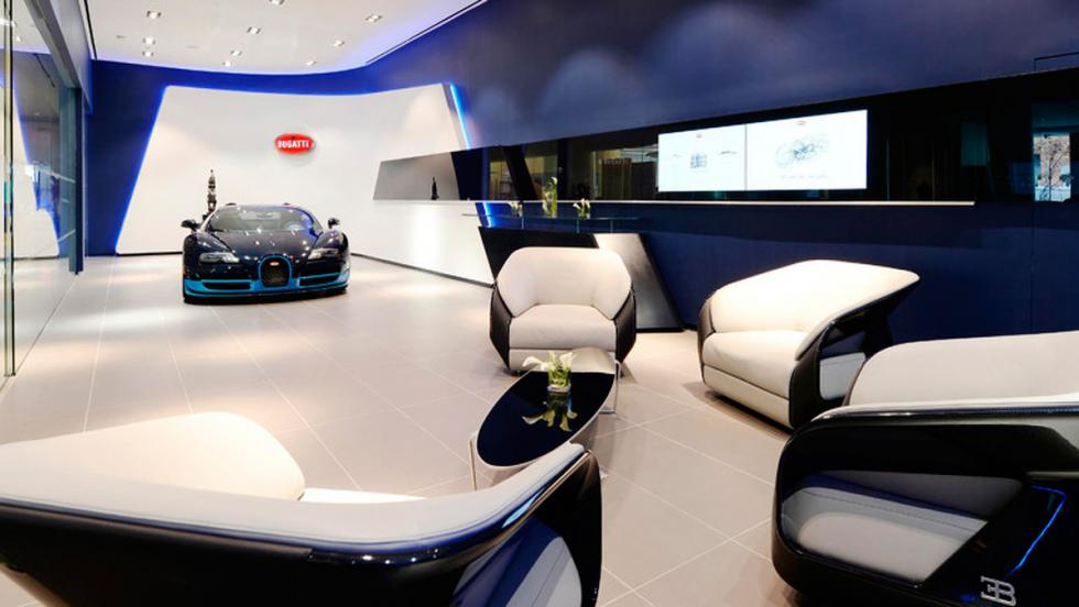 Bugatti Showroom 2