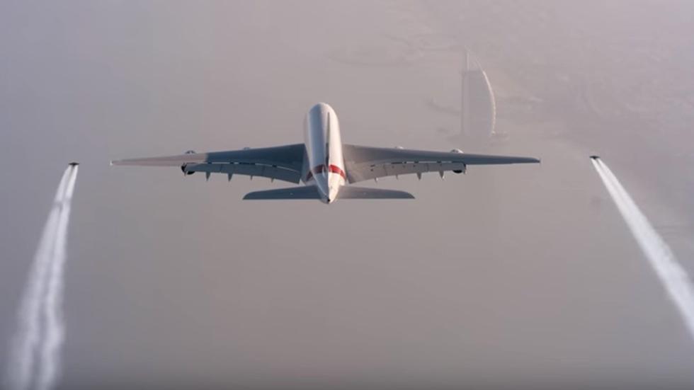 baile emirates jetman