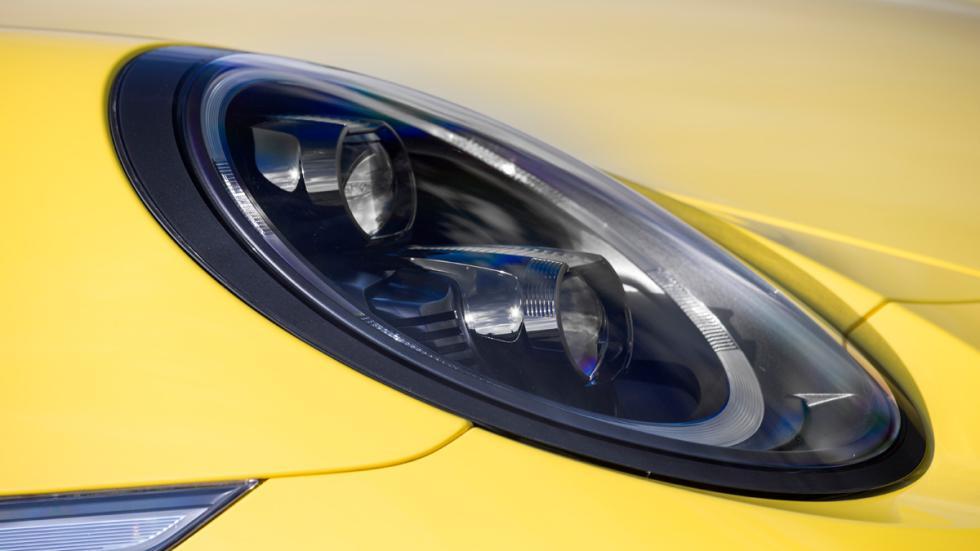 Porsche 911 Carrera S Cabrio 2015 faros led oscuros