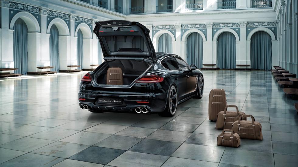 Porsche Panamera Exclusive Series maletas