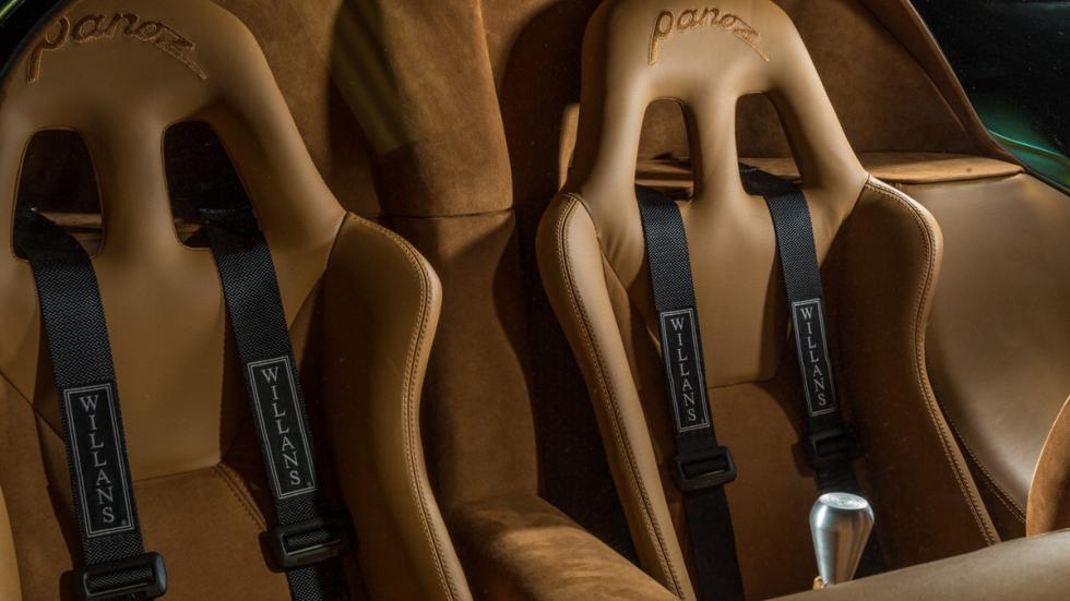 Panoz Esperante GTR-1 asientos