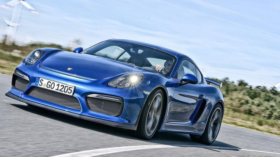 Porsche Cayman GT4 Clubsport. Solo con cambio secuencial en el volante, y por má
