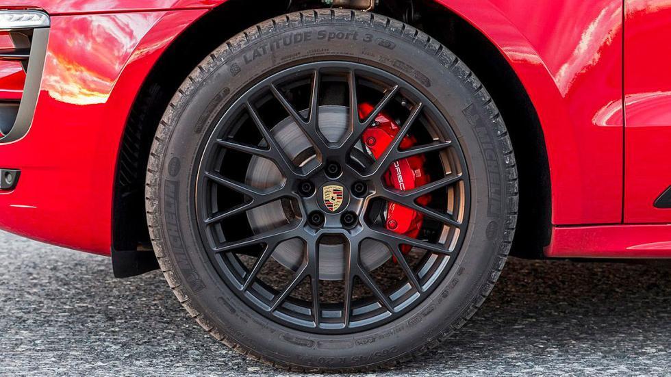 Prueba: Porsche Macan GTS. El SUV deportivo definitivo. Exterior llanta.