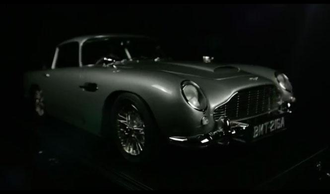 Aston Martin DB5 James Bond a escala