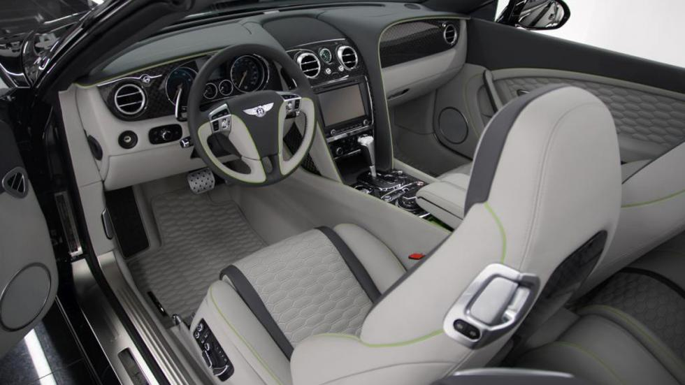 Bentley Continental GTC Startech interior
