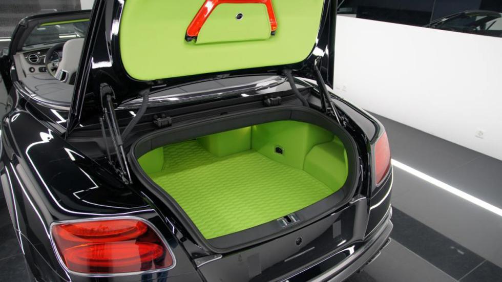 Bentley Continental GTC Startech maletero verde