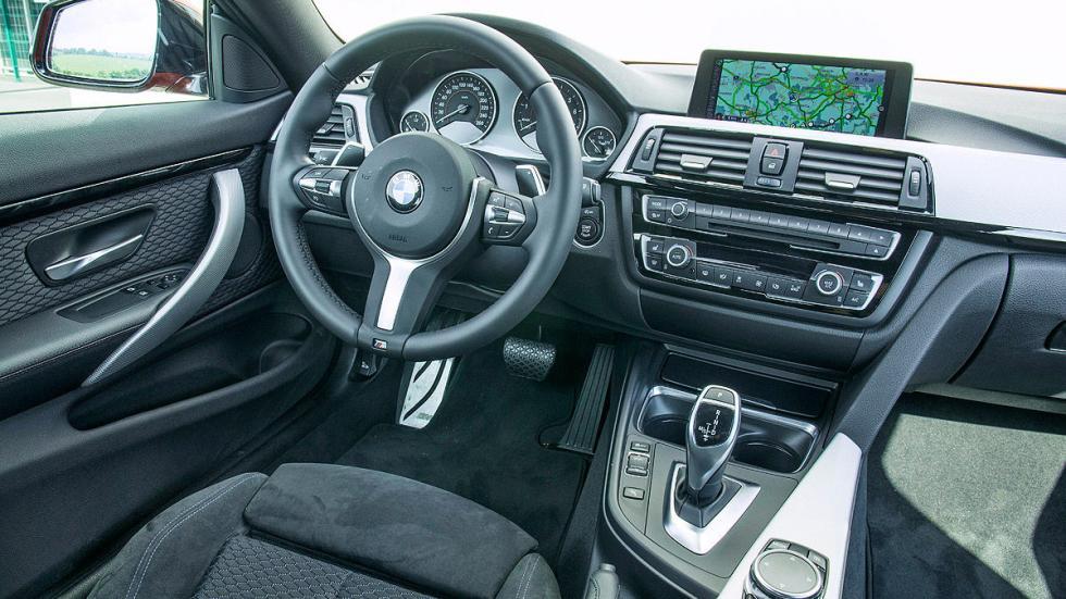 BMW 435i interior