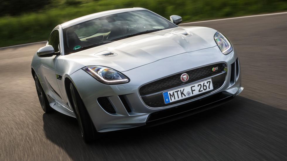 El Jaguar F-Type Coupe R es un estricto biplaza de estilo clásico pero por poten