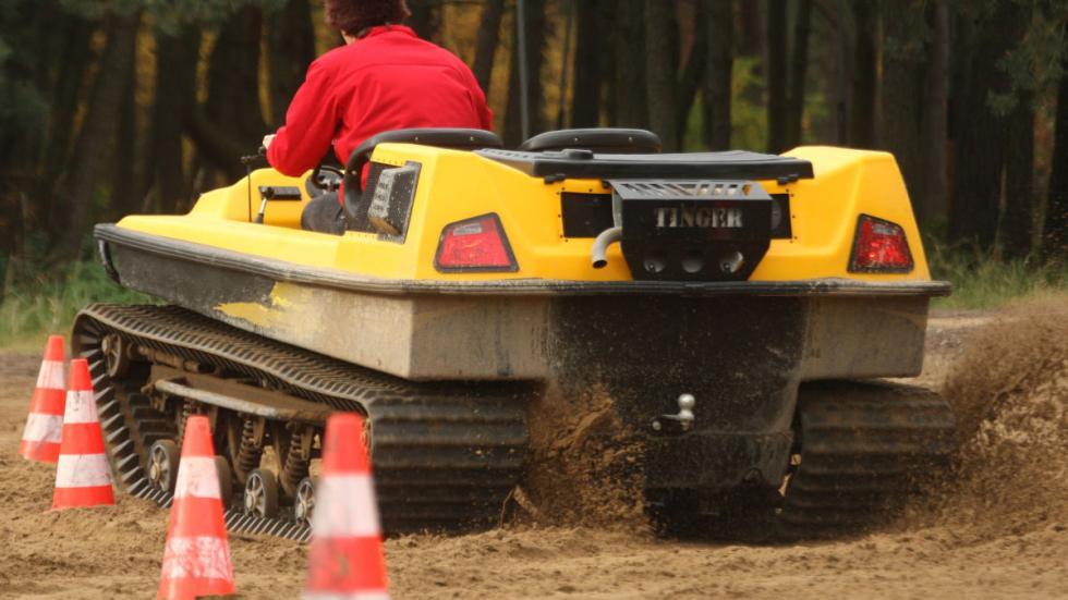 Tinger Track: el primer tanque de bolsillo12