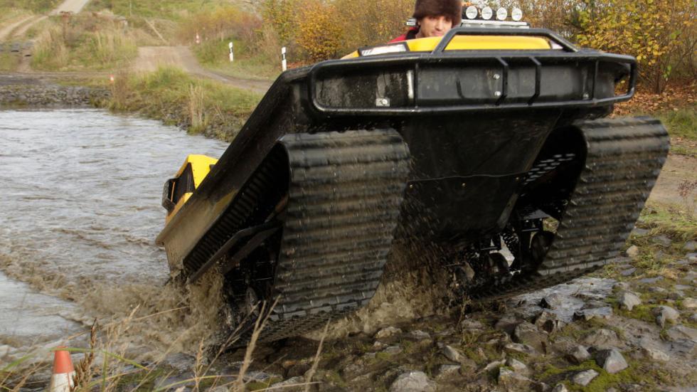 Tinger Track: el primer tanque de bolsillo15