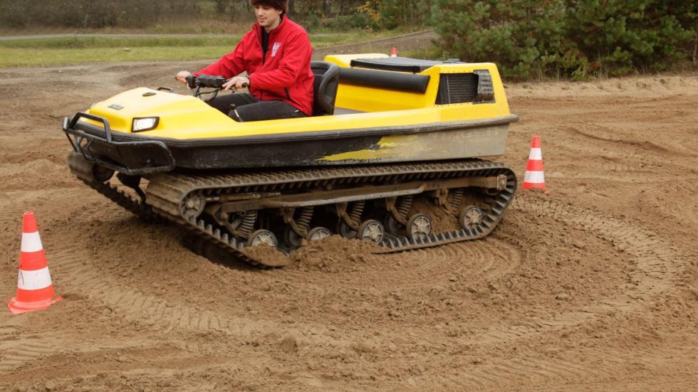 Tinger Track: el primer tanque de bolsillo16