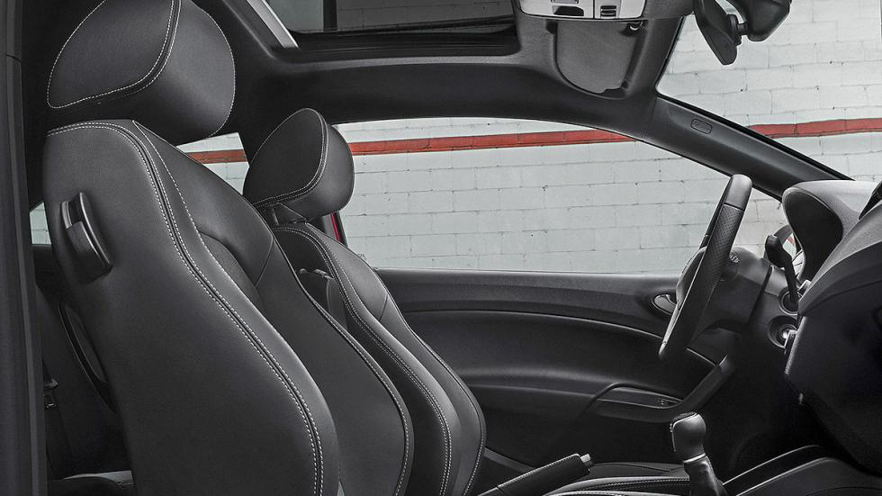 Prueba: Seat Ibiza Cupra 2015. Rabia concentrada. Asientos