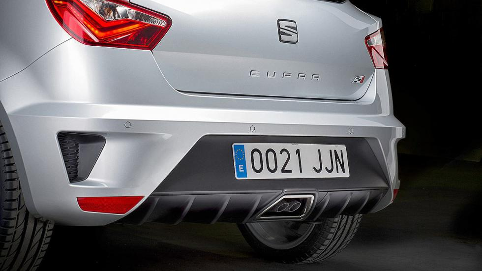Prueba: Seat Ibiza Cupra 2015. Rabia concentrada. Zaga.
