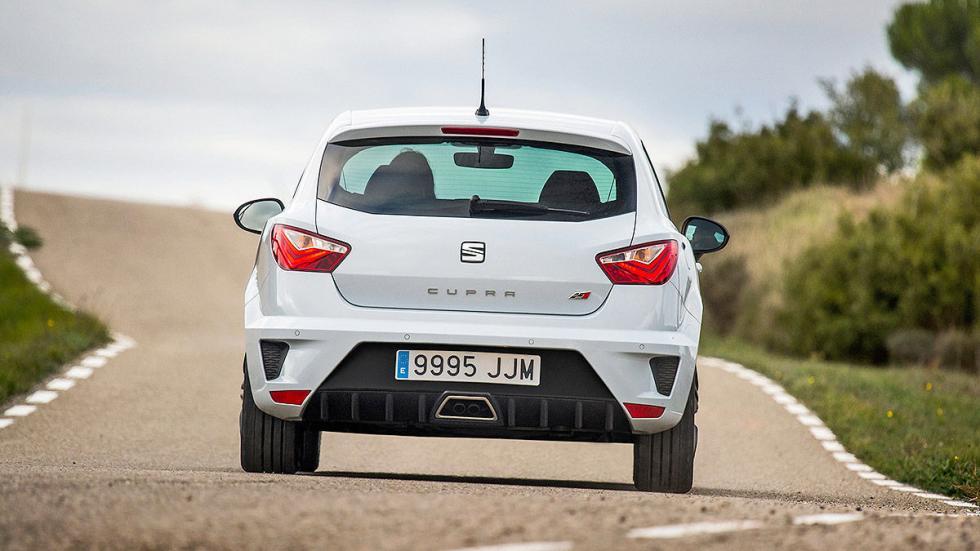 Prueba: Seat Ibiza Cupra 2015. Rabia concentrada. Pilotos