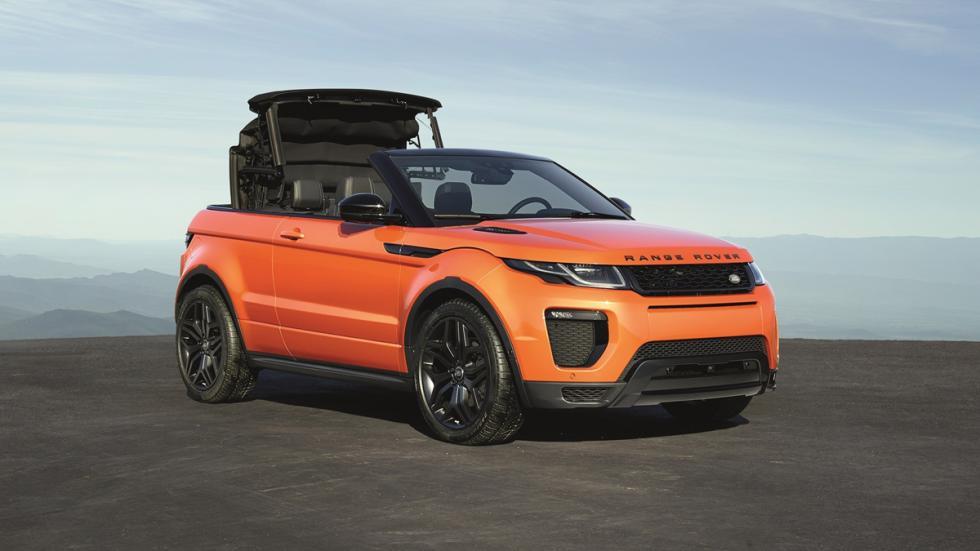 Range Rover Evoque Convertible descapotar