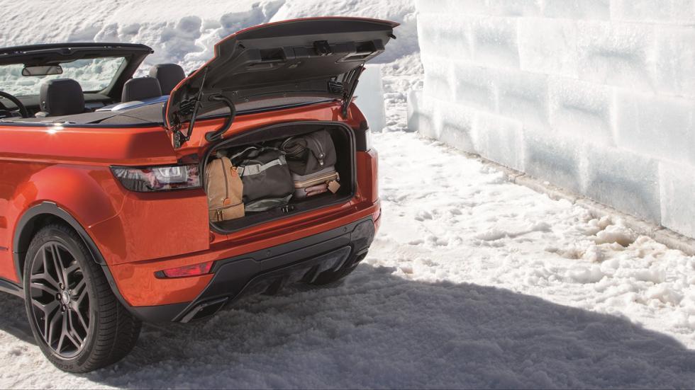 Range Rover Evoque Convertible maletero