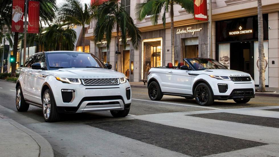 Range Rover Evoque Convertible peso