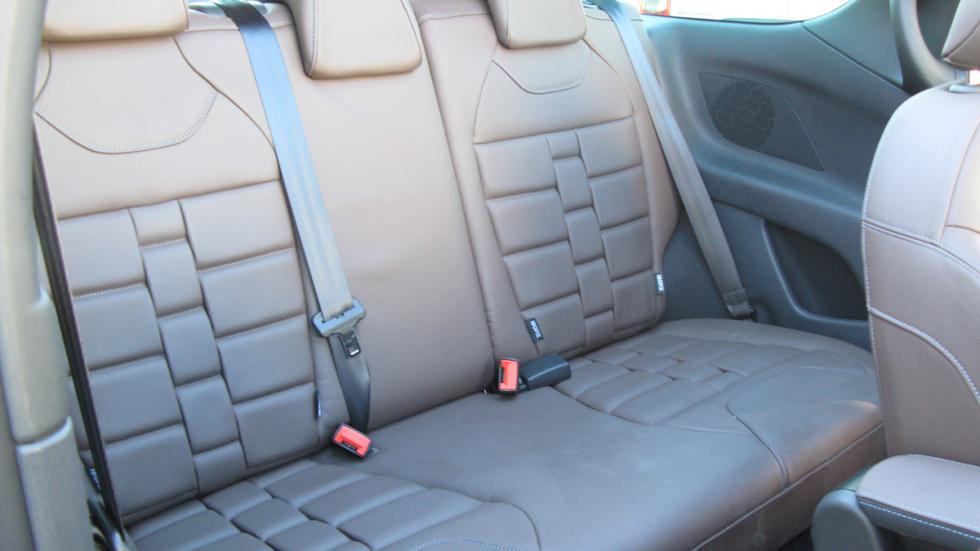 DS3 cabrio asientos posteriores