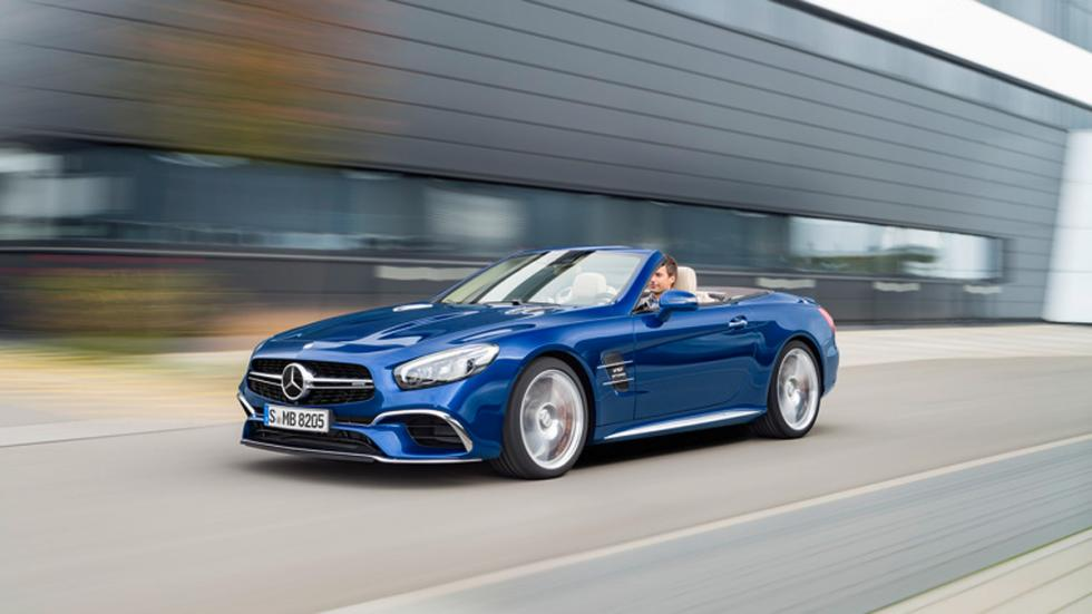Mercedes SL 2016 dinamica