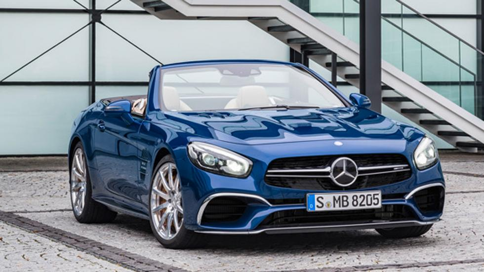 Mercedes SL 2016 frontal