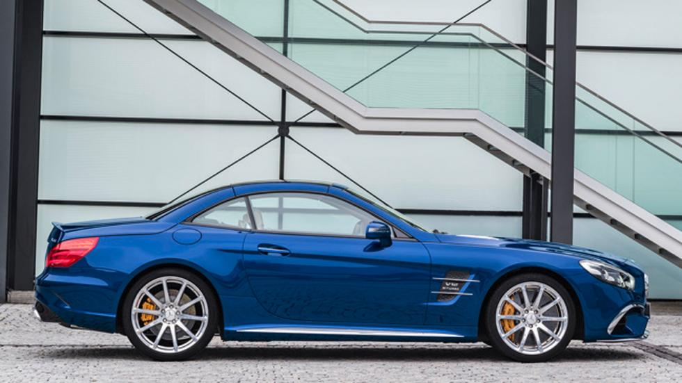 Mercedes SL 2016 perfil