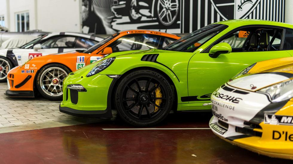Porsche Exclusive GT3 RS perfil