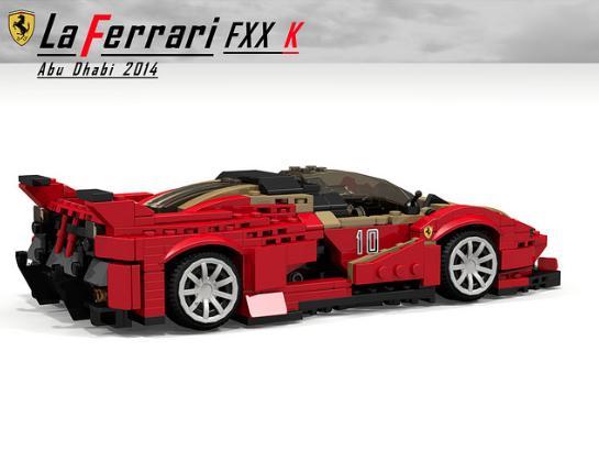 Ferrari LaFerrari FXX K Lego