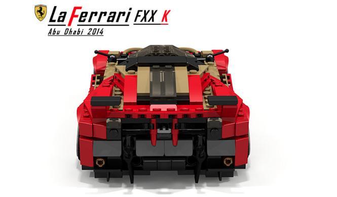 Ferrari LaFerrari FXX K Lego 6