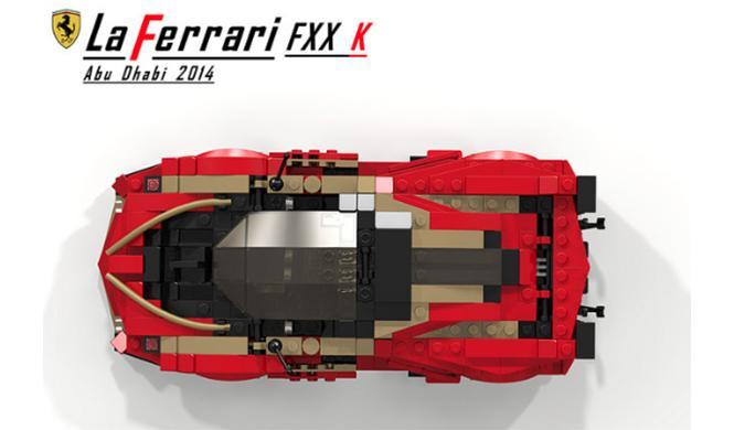 Ferrari LaFerrari FXX K Lego 7