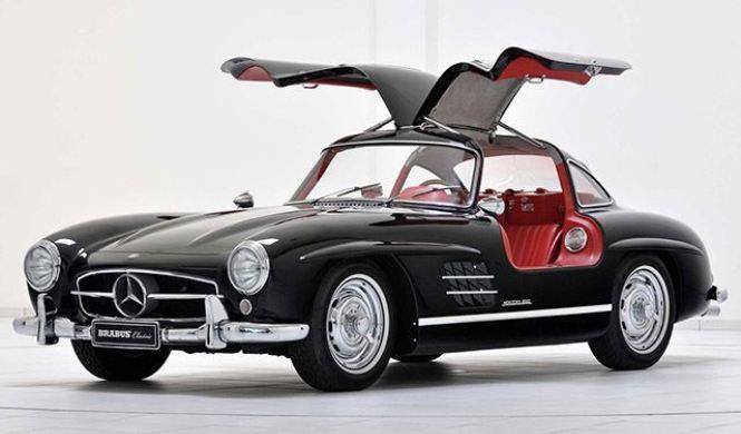 Cinco versiones que no conocías del Mercedes SL