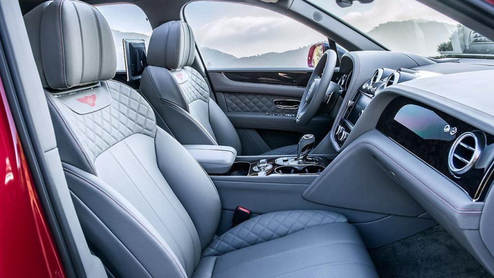 Prueba del Bentley Bentayga. Lujo x 4 interior