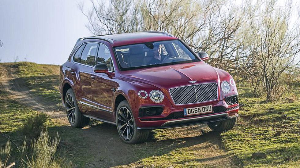 Prueba del Bentley Bentayga. Lujo x 4 lateral offroad