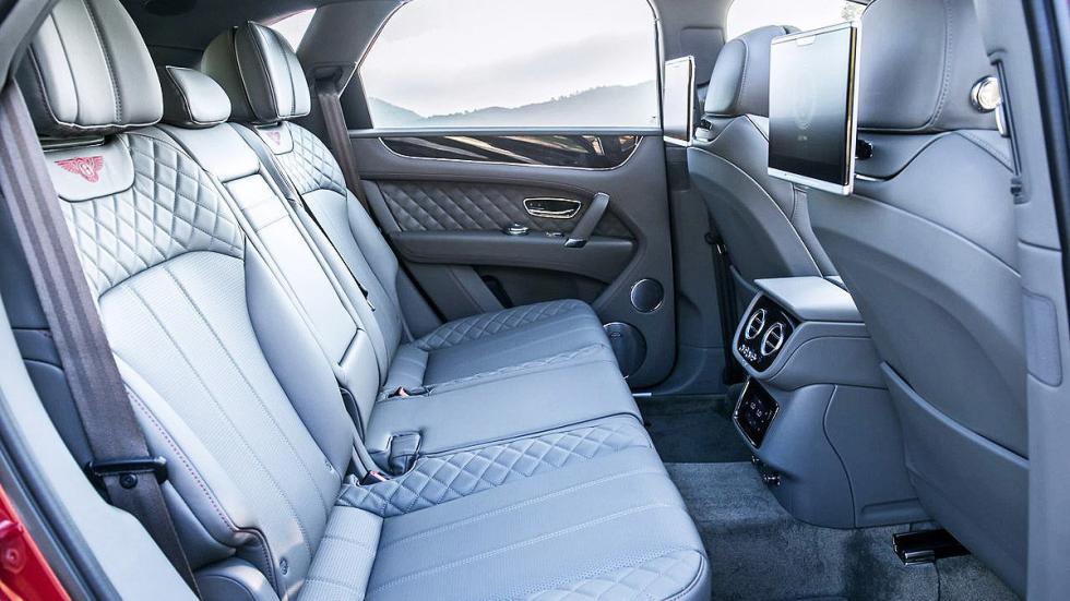 Prueba del Bentley Bentayga. Lujo x 4 traseras