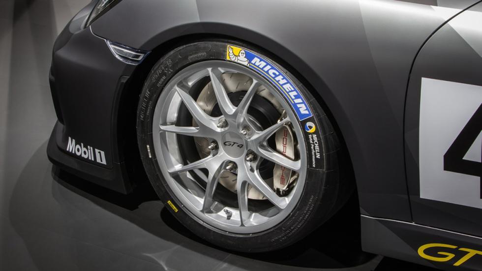 Porsche Cayman GT4 Clubsport llantas